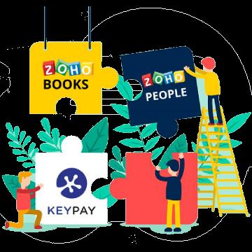 KeyPay Integration with Zoho Books